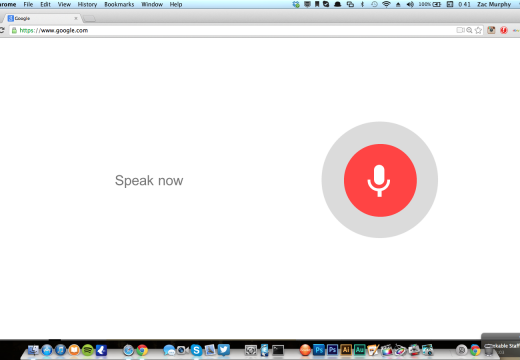 """Ok Google"" Voice search goes live on Chrome"
