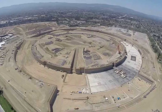 Drone GoPro Video of Apple Campus 2